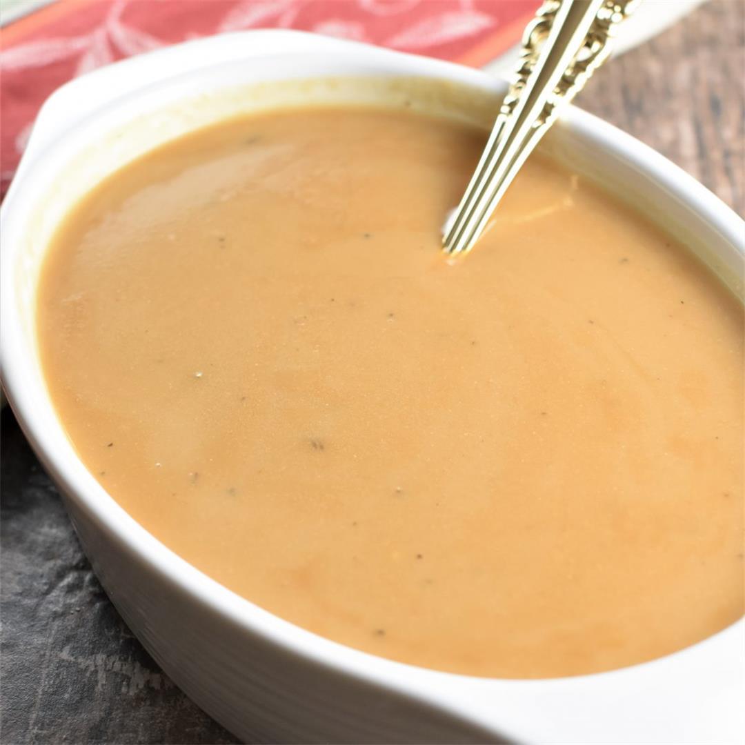 Chickpea Flour Gravy [Gluten-Free, Vegan]