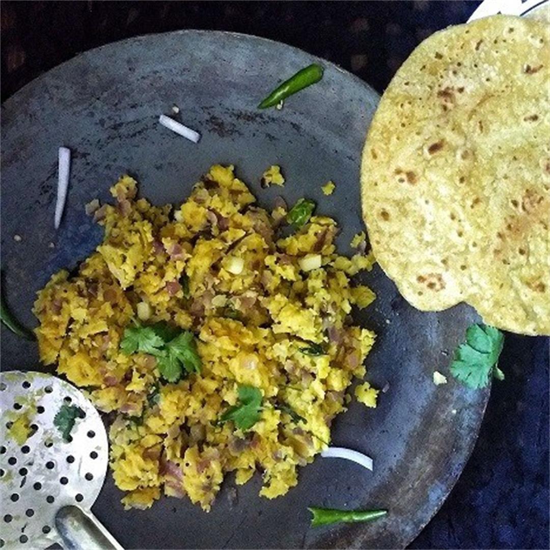 Zunka - Authentic Maharashtra Dish