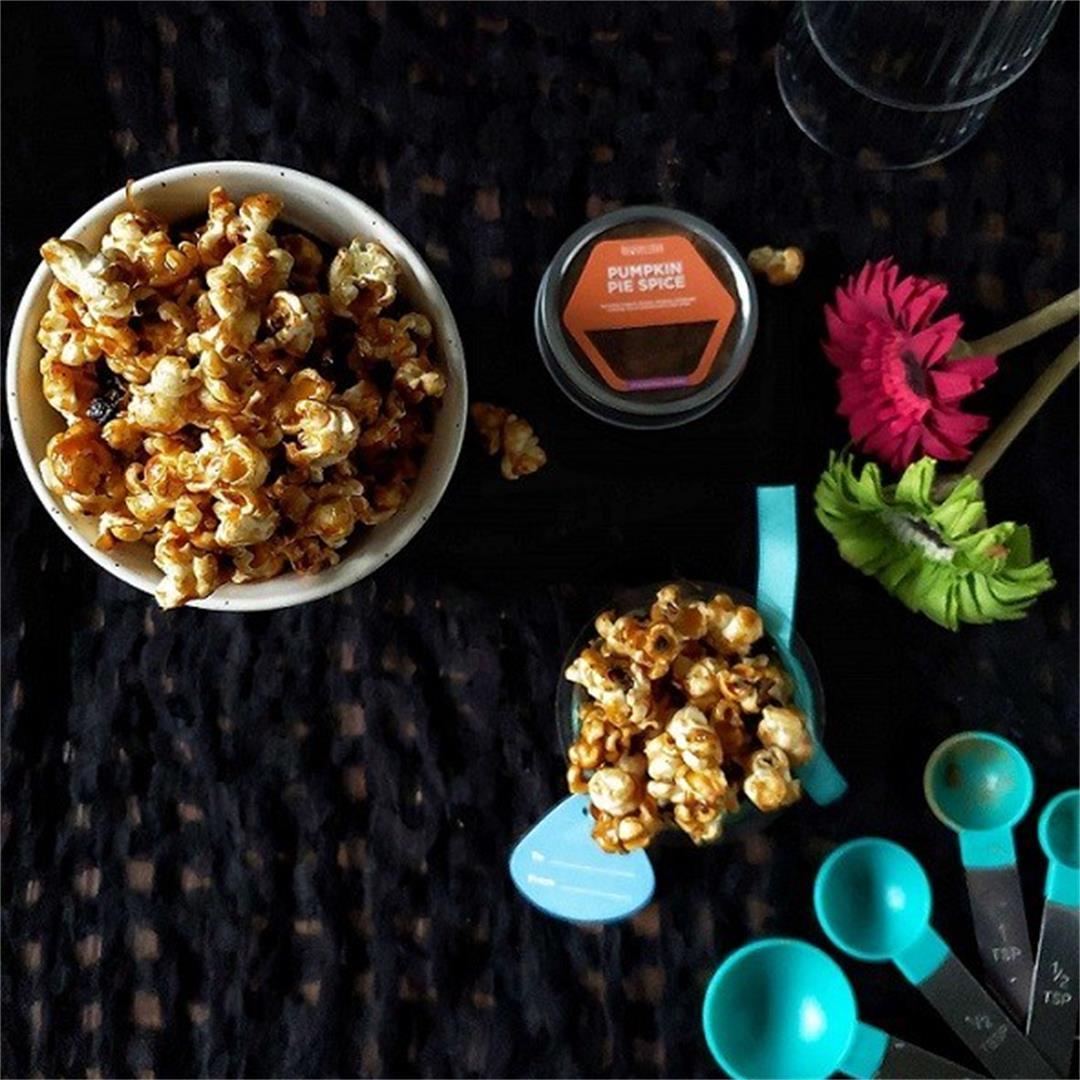 Pumpkin Pie Spice Popcorn