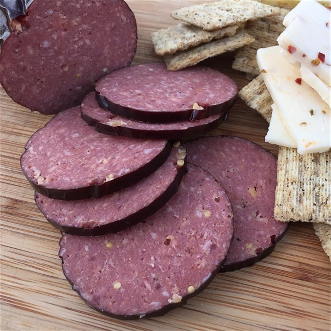 Easy and Delicious Homemade Summer Sausage