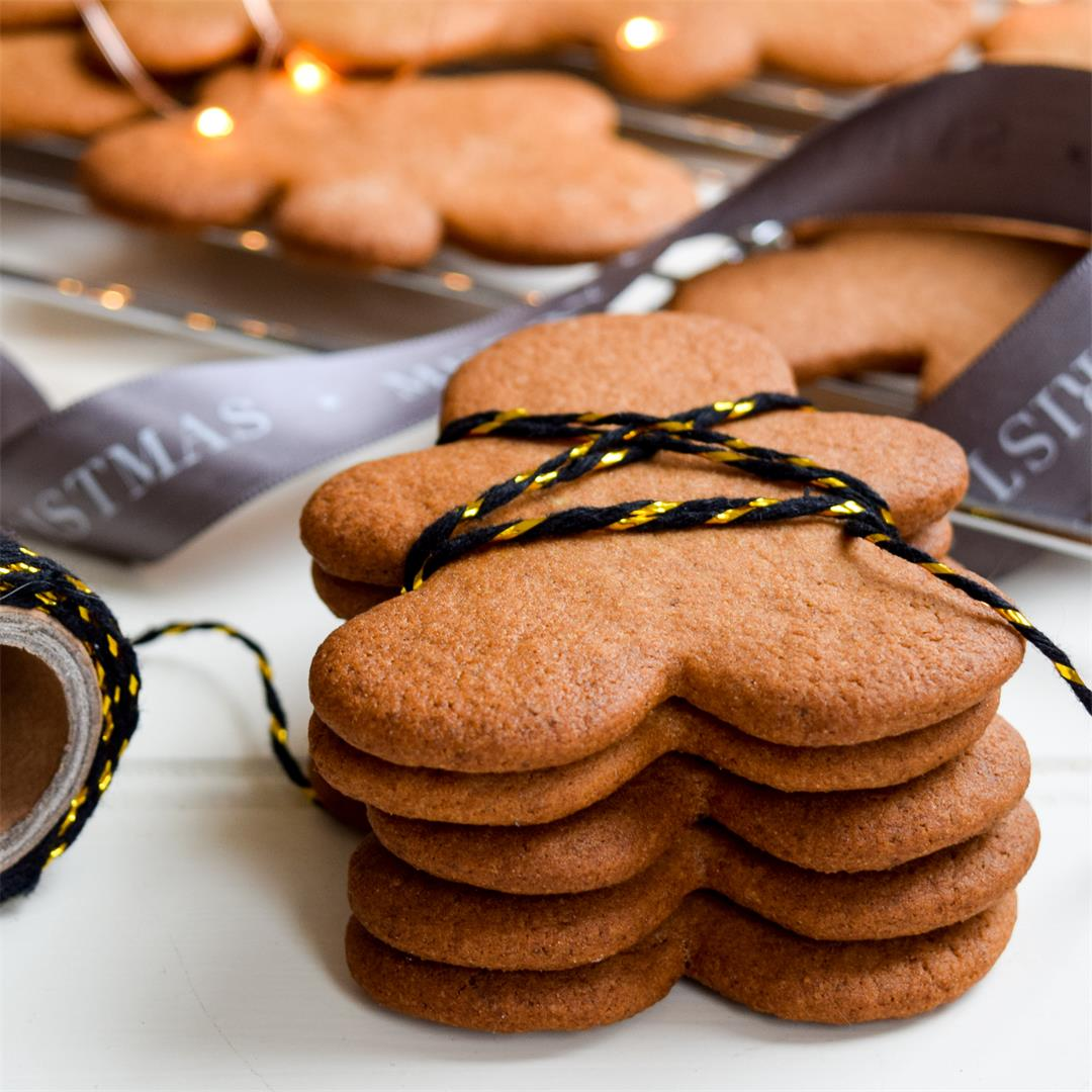 How To Make Classic Gingerbread Men
