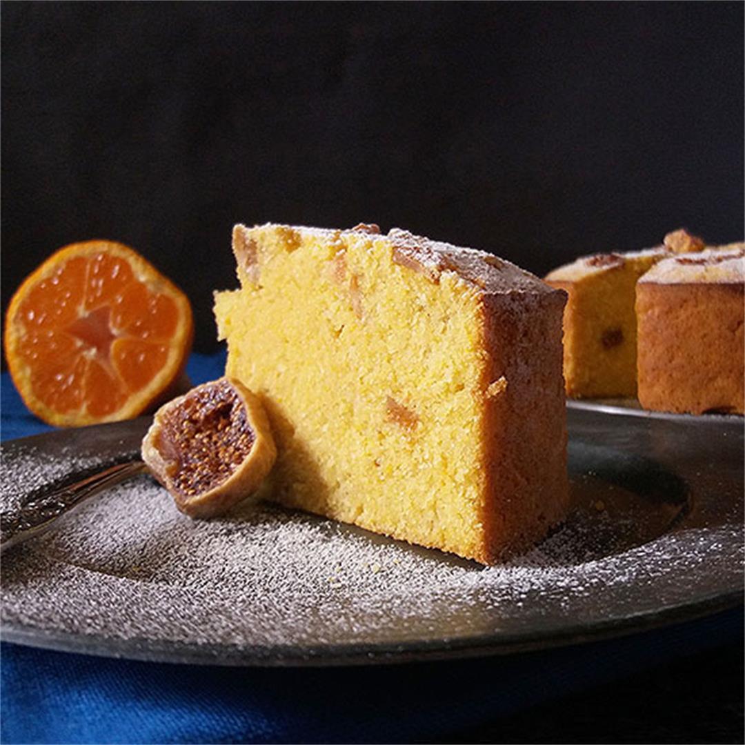 Italian Festive Cake (Bustrengo)