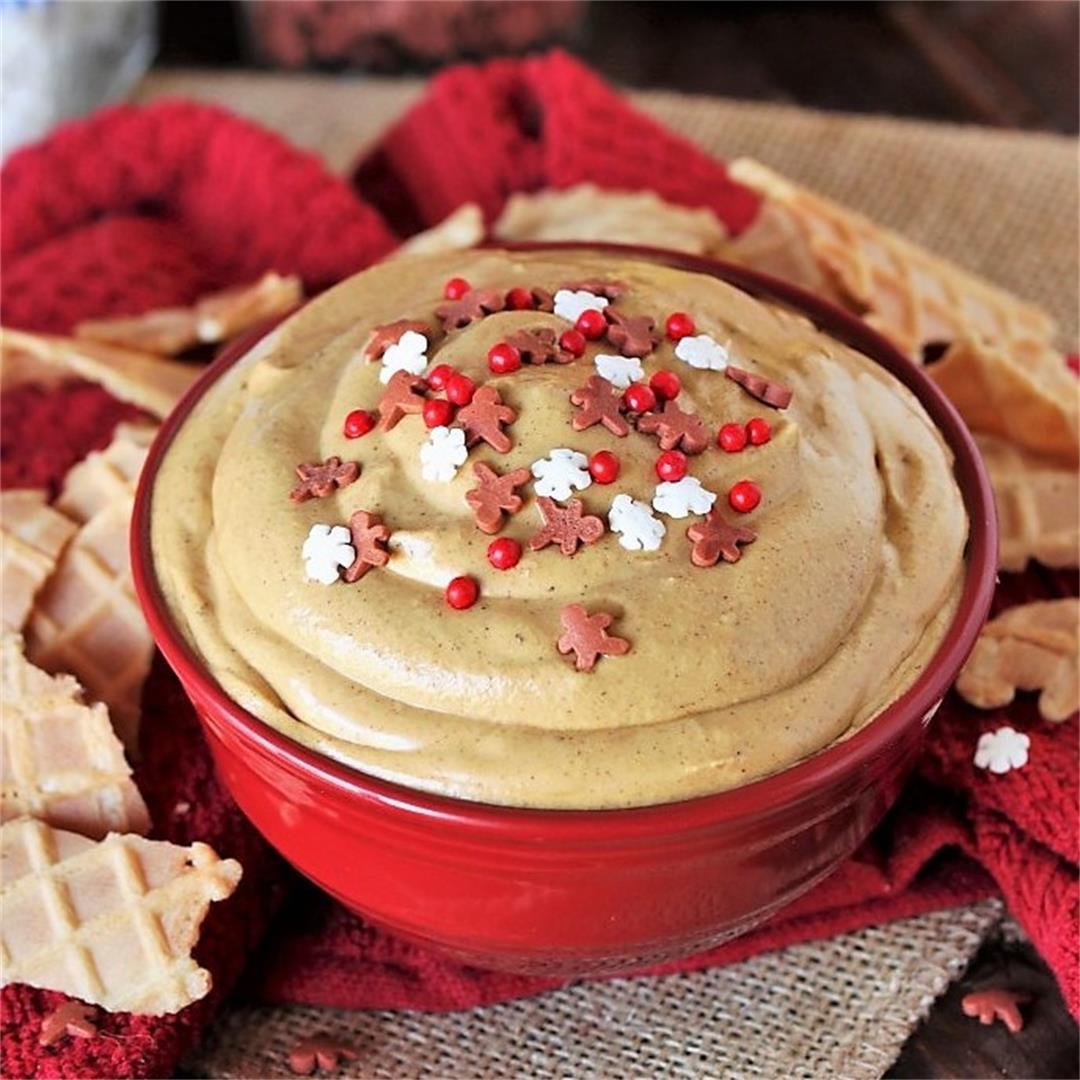 Creamy Gingerbread Dip