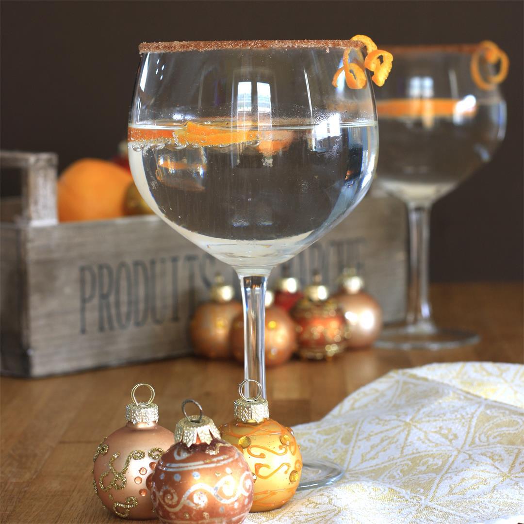 Gin-Gle Bell Gin Orange Liqueur Cocktail