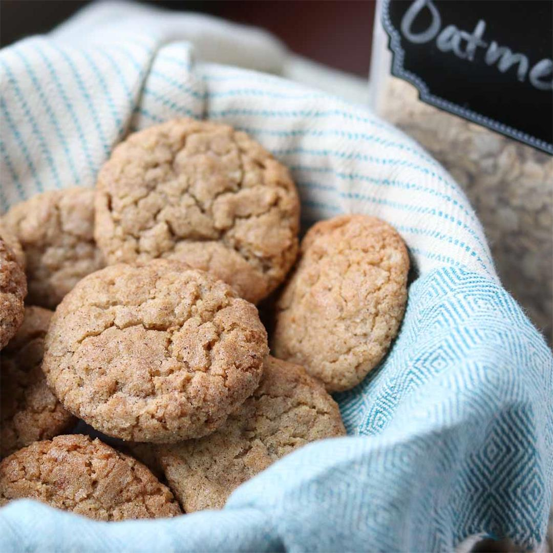 Cinnamon Oodles-Oatmeal Snickerdoodles