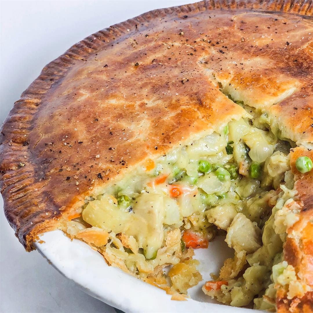 The most flavorful Chicken Pot Pie