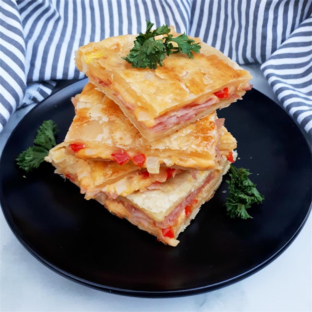 Ham And Cheese Pie (Sheet Pan recipe)