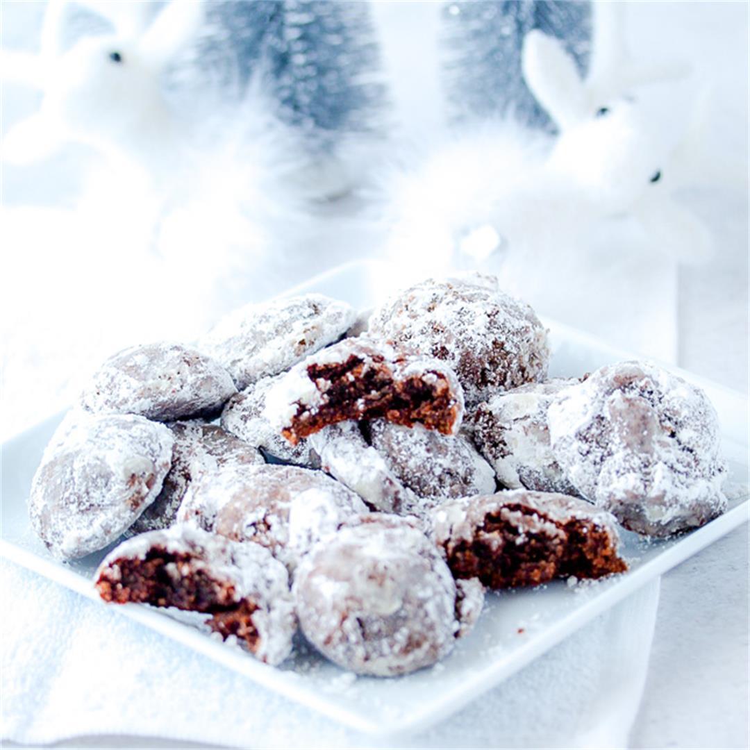 Honey Date Snowball Cookies