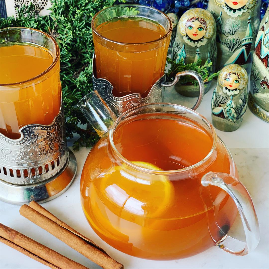Citrus Spiced Russian Tea