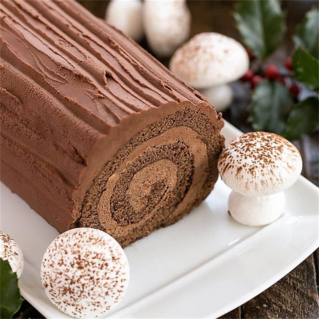 Buche de Noel or Yule Log