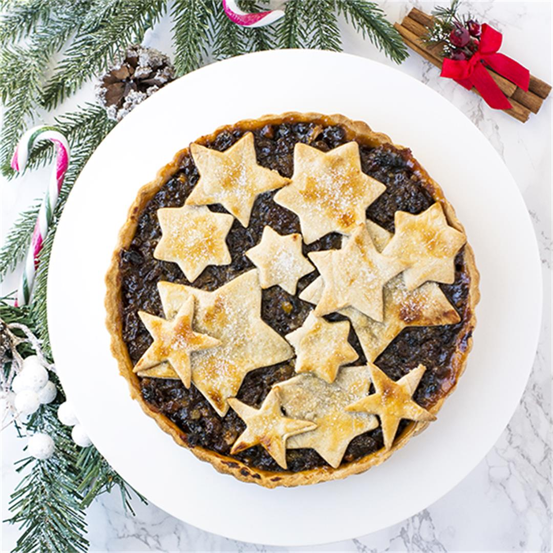 Mince Pie Tart. Treat your guests to this share size variation