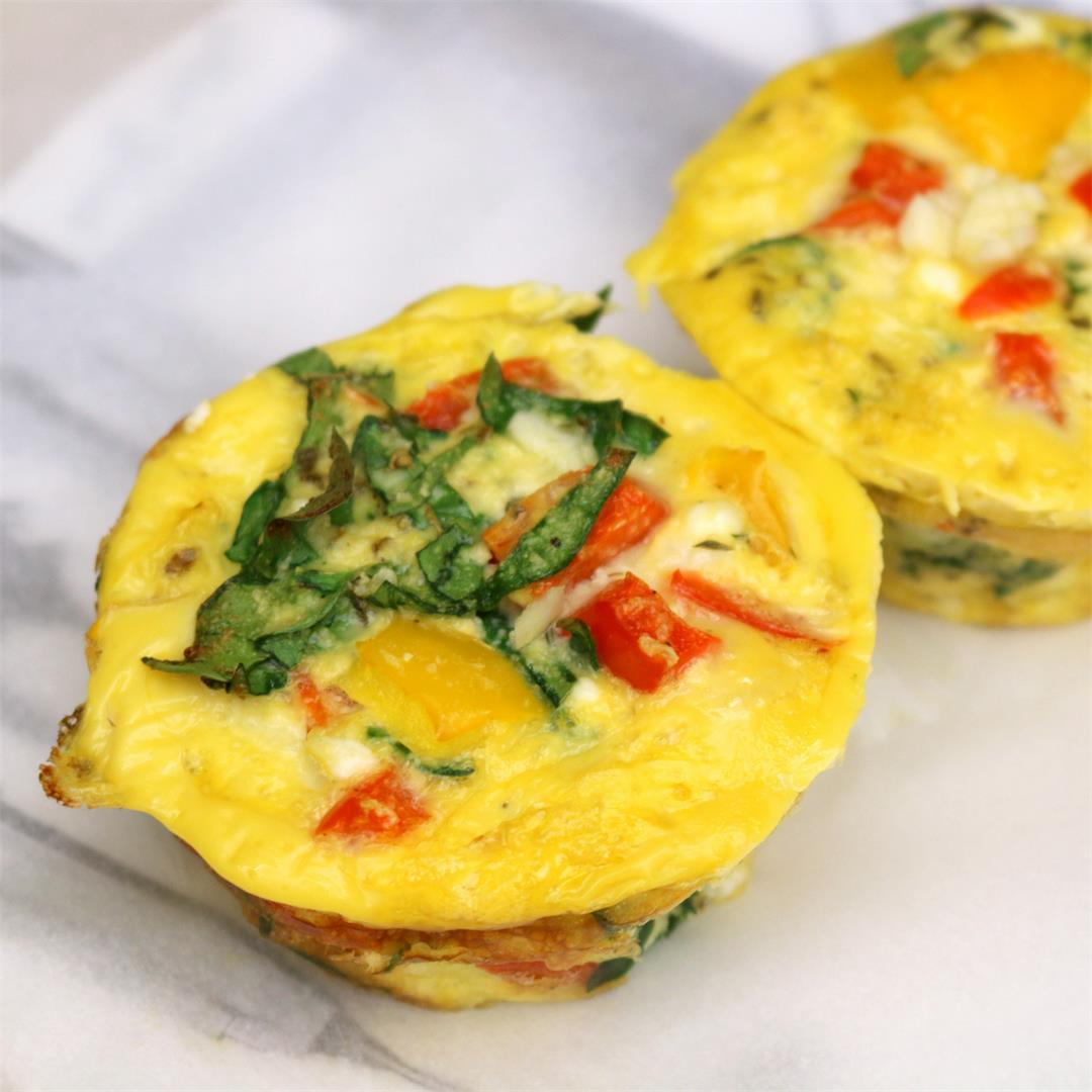 Super Breakfast muffins - be the Superman