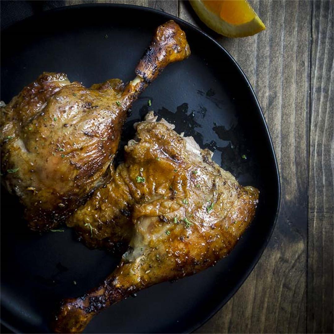 Crispy Roasted Duck