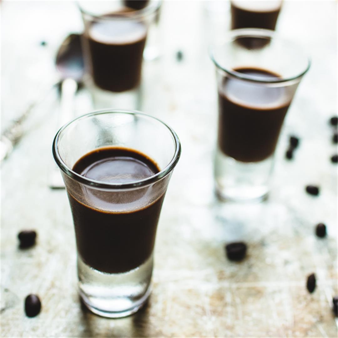 Chocolate Coffee Dessert Shots