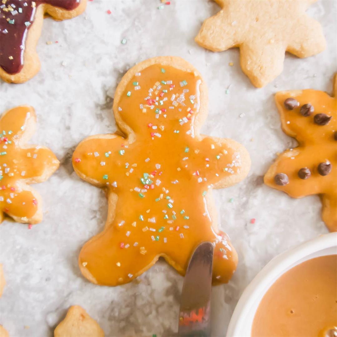 Paleo Cut-Out Cinnamon Maple Sugar Cookies (GF)