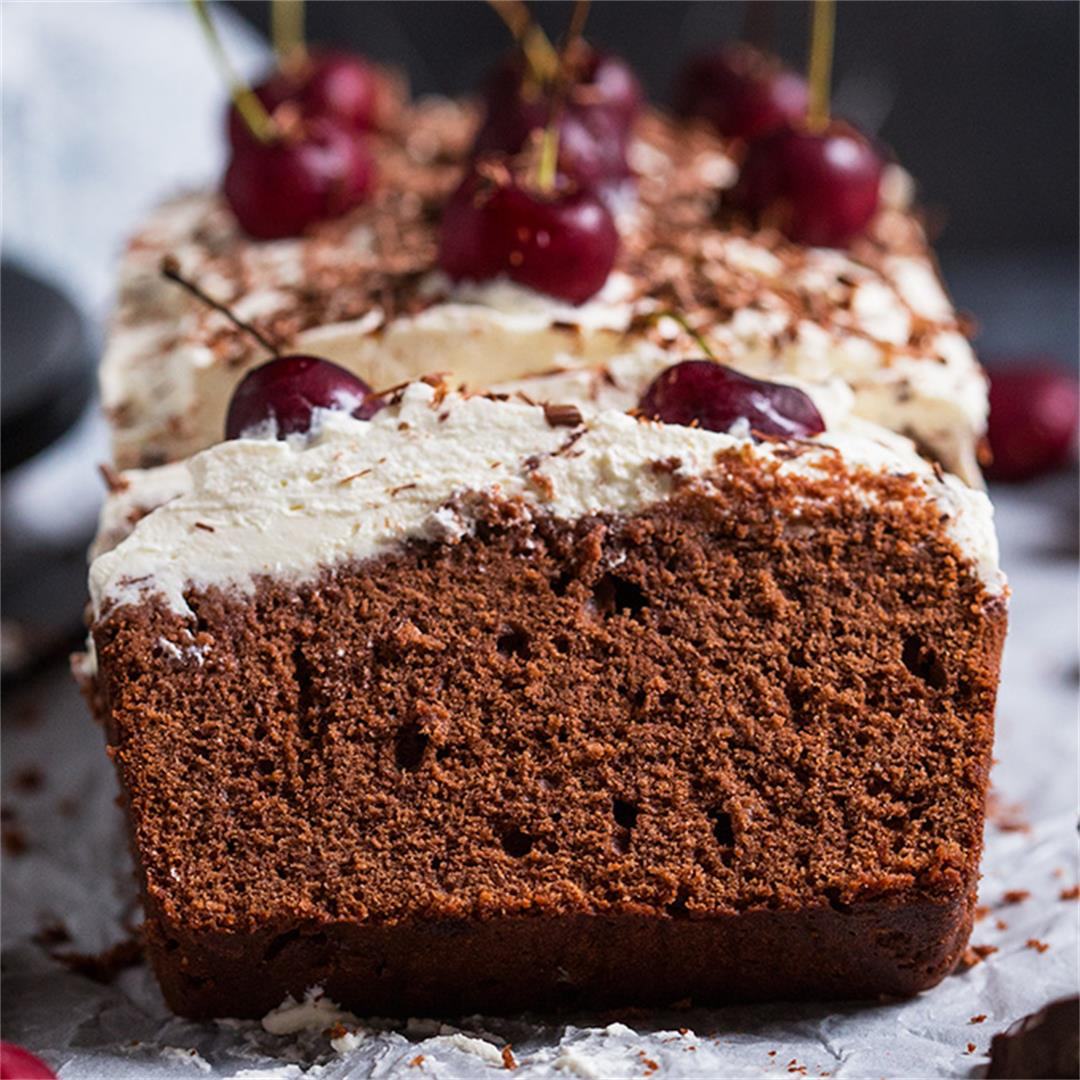 Black Forest Loaf Cake