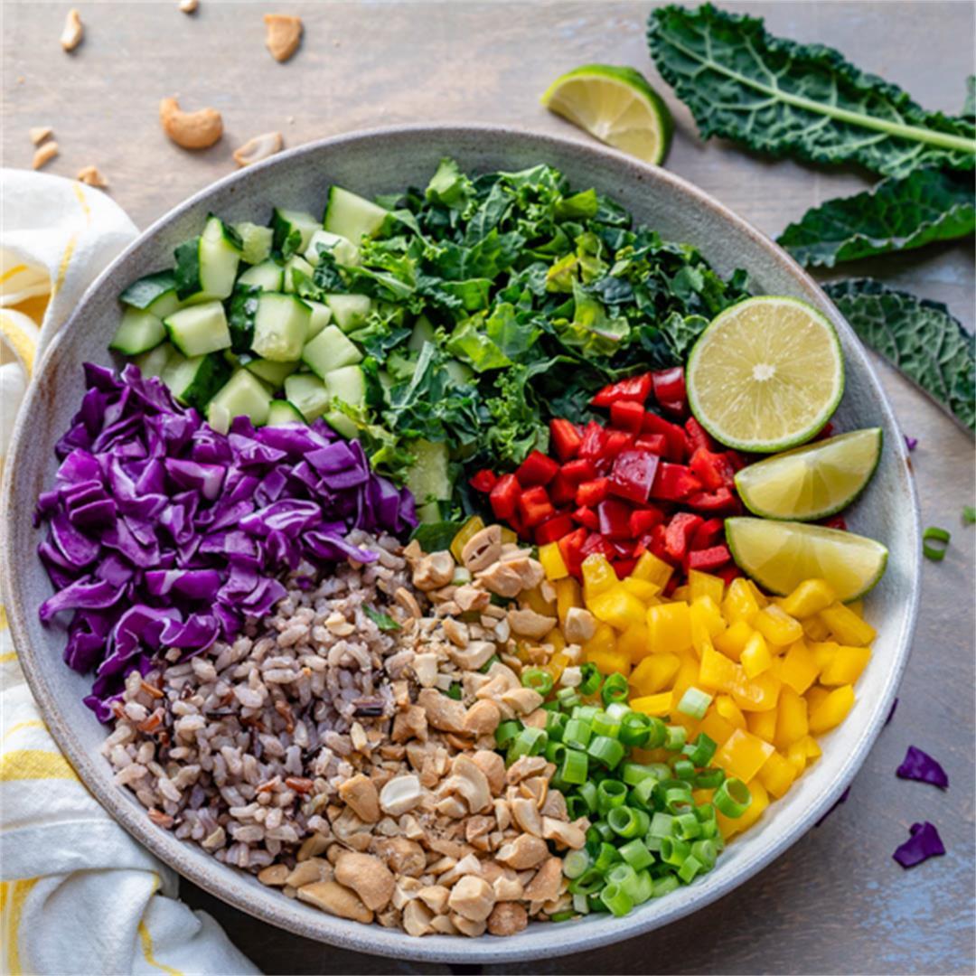 Vegan Thai Rice Salad