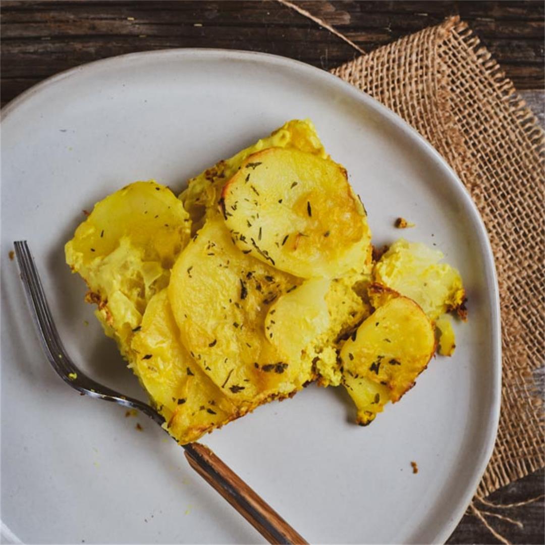Creamy Vegan Scalloped Potatoes