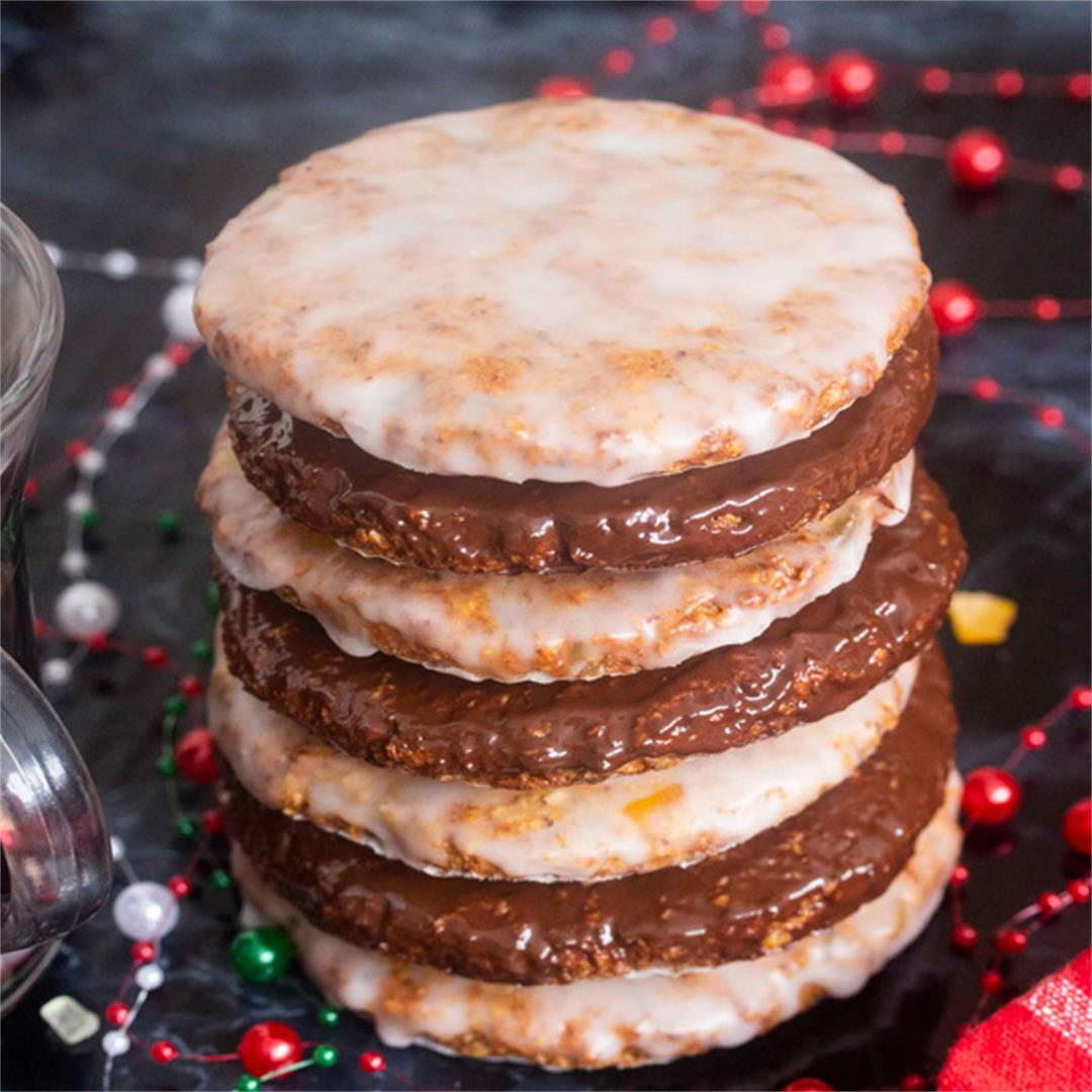 German Flourless Christmas Cookies (Elisenlebkuchen)