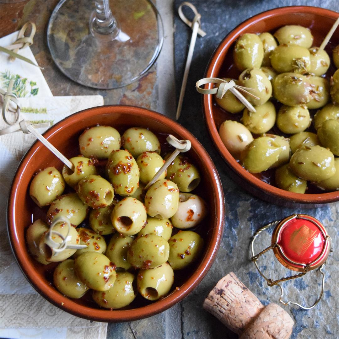How To Marinate Your Own Olives