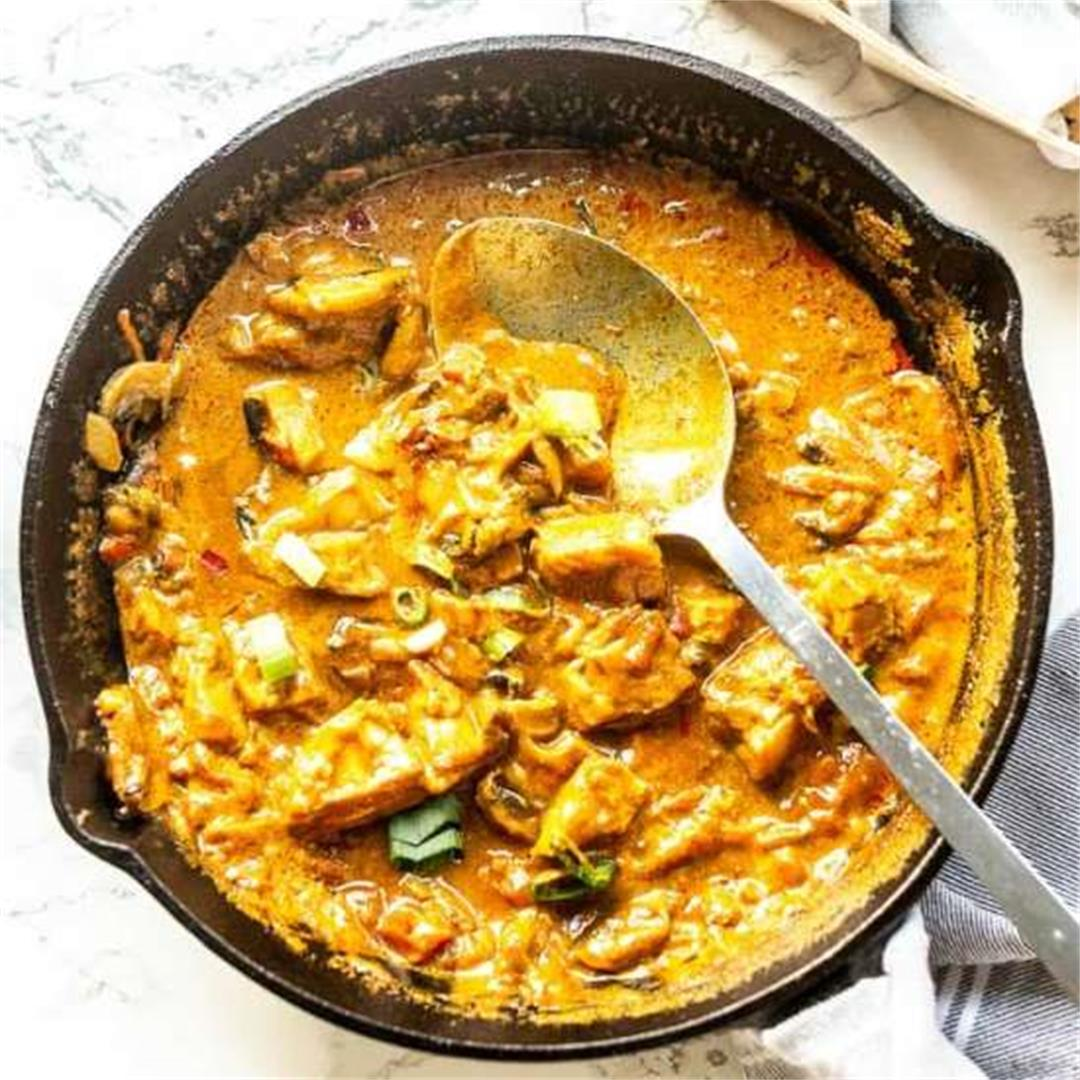 Fast fish curry