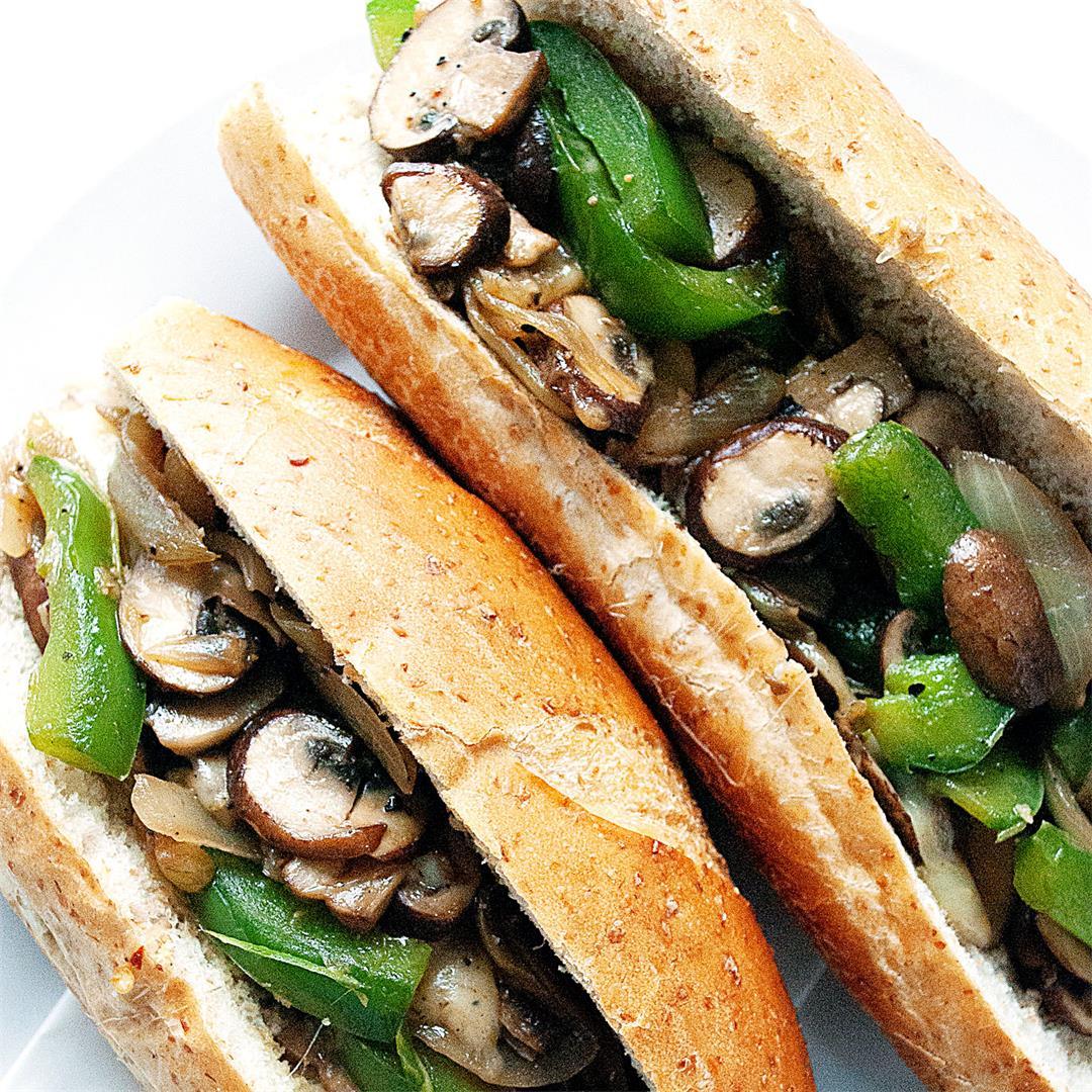 Vegetarian Philly Cheesesteak