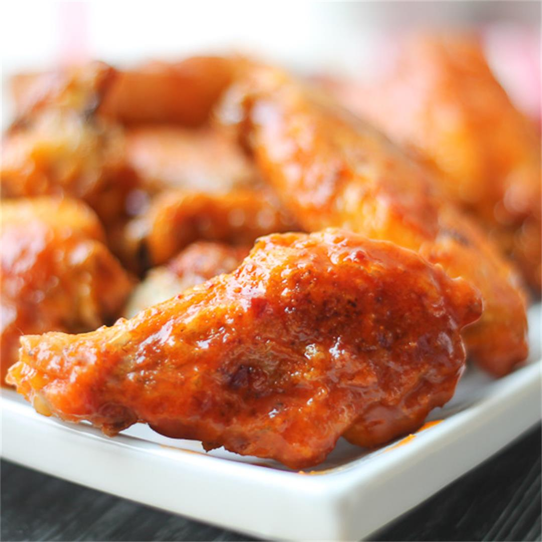 Crispy Baked Hot Wings