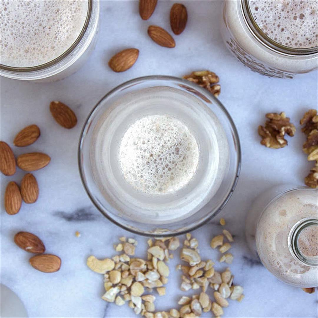 Everyday Plant-based Milk