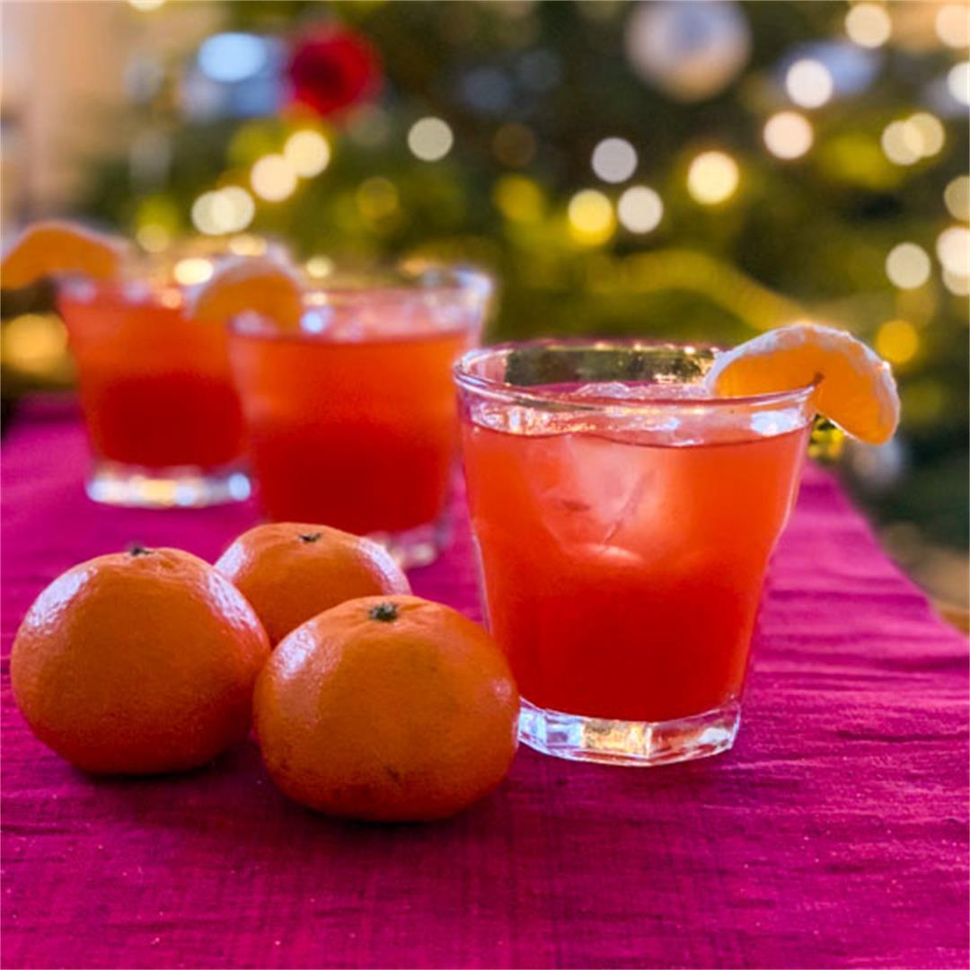 Clementine Campari Cocktail