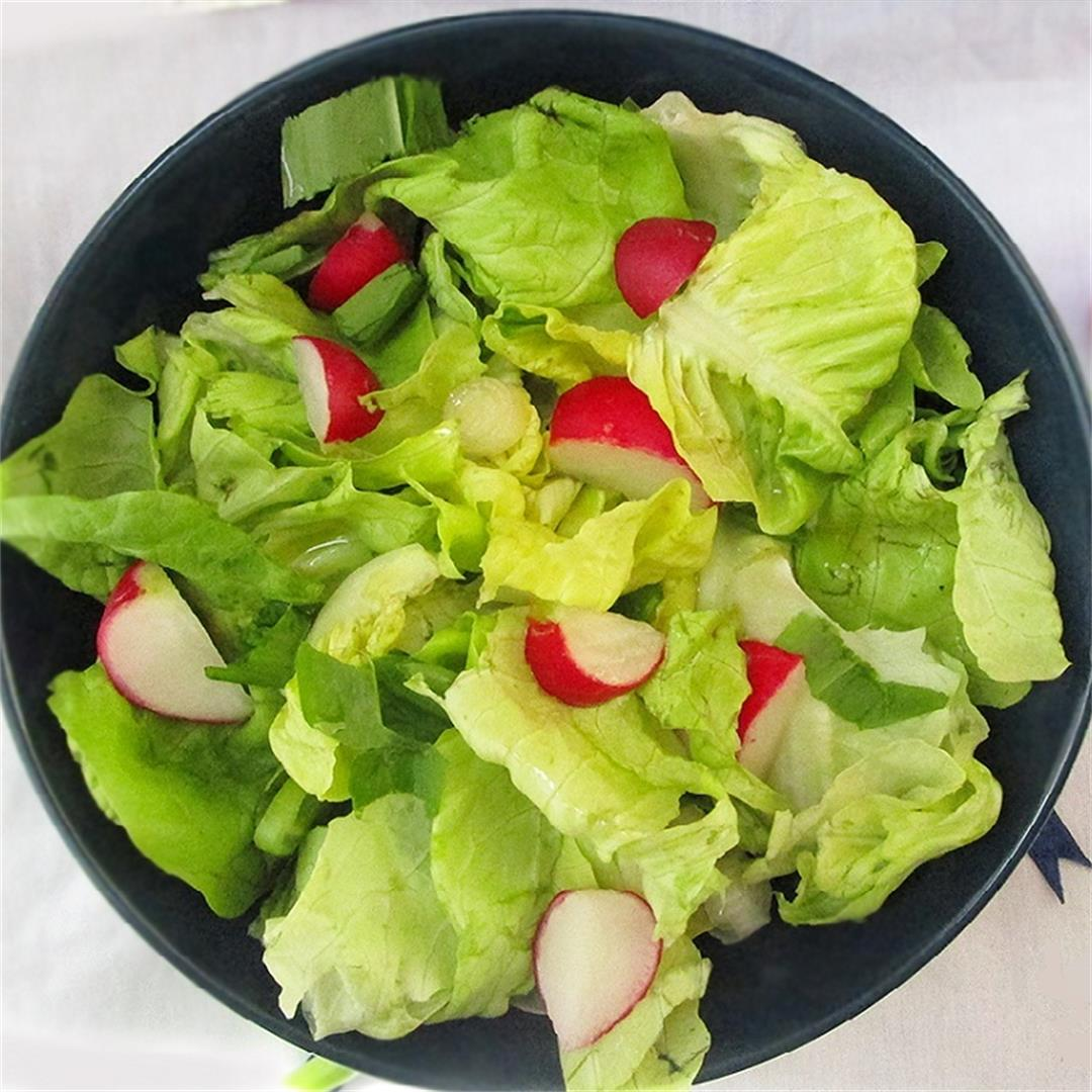 Quick & Easy Spring Lettuce Salad