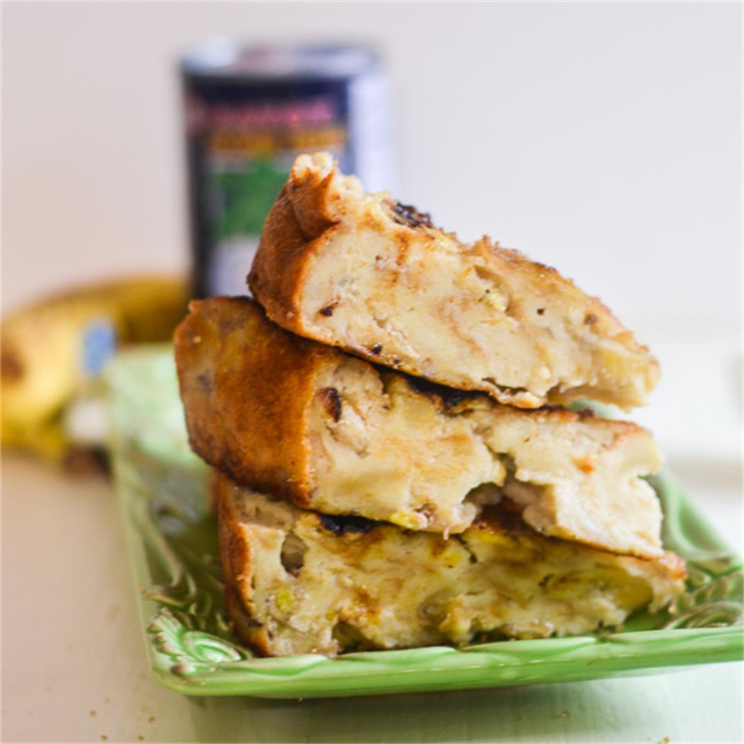 Baked Banana Cake (Banh Chuoi Nuong)