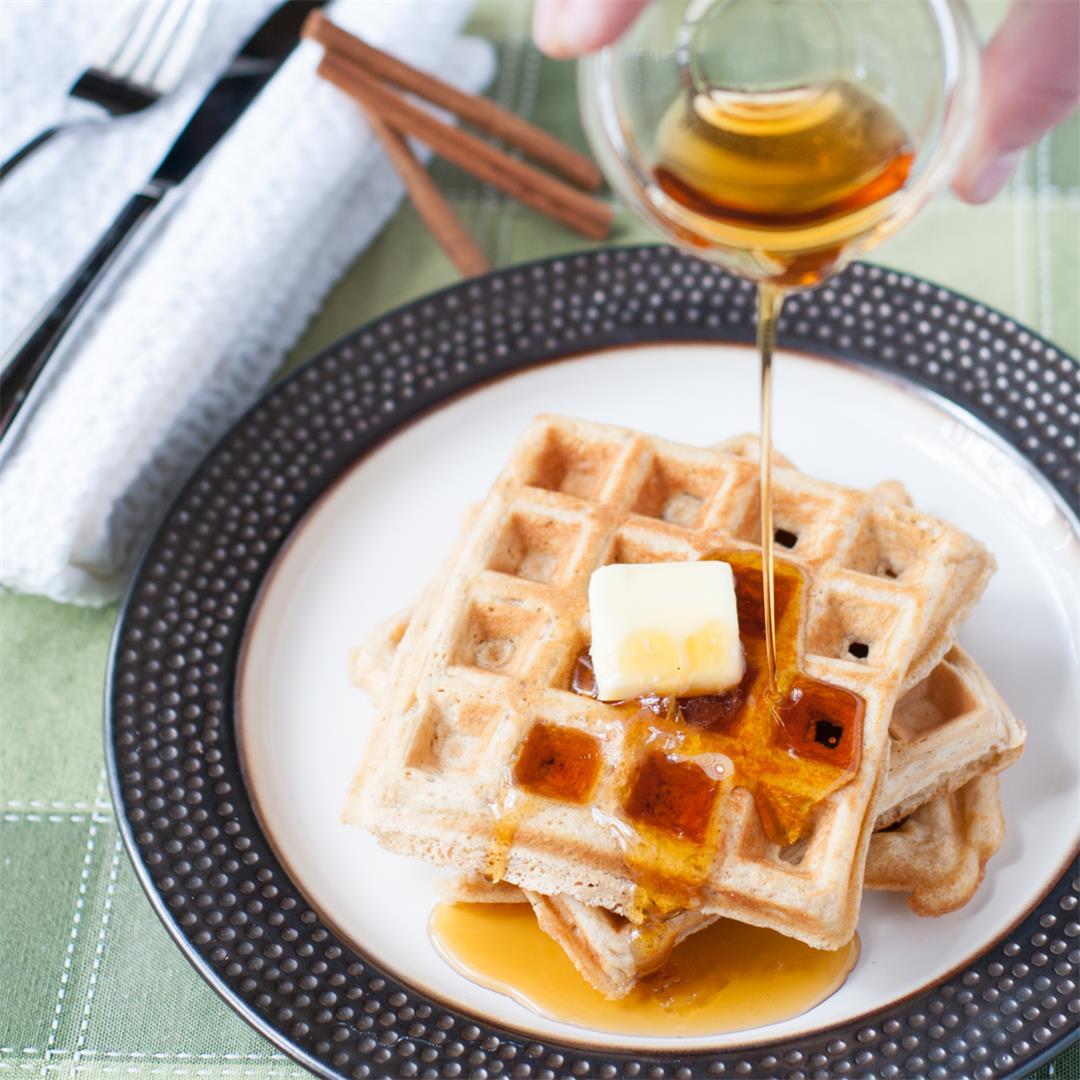 Tasty Cinnamon Waffles