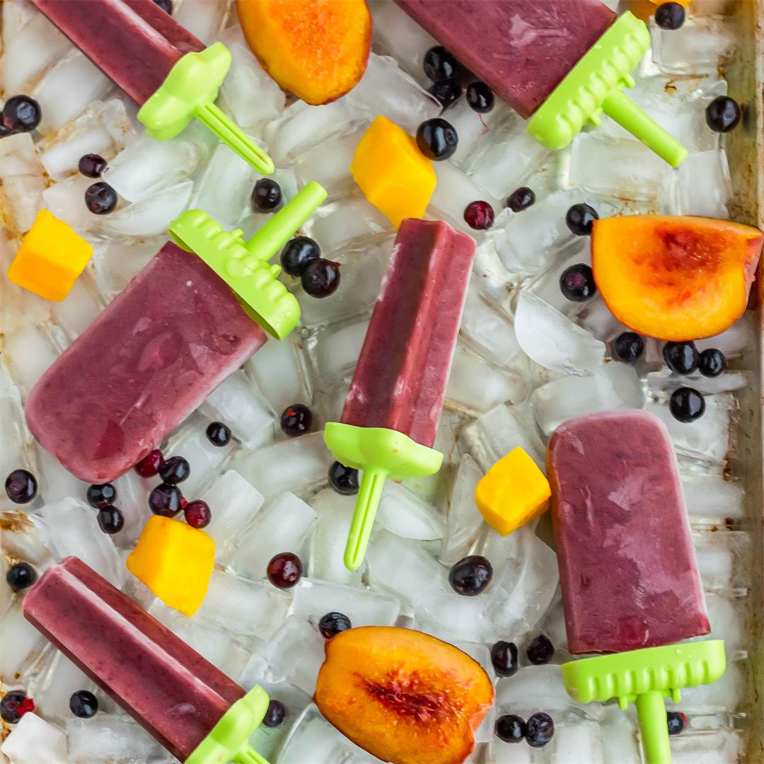 Healthy Tea Popsicles For Sore Throats