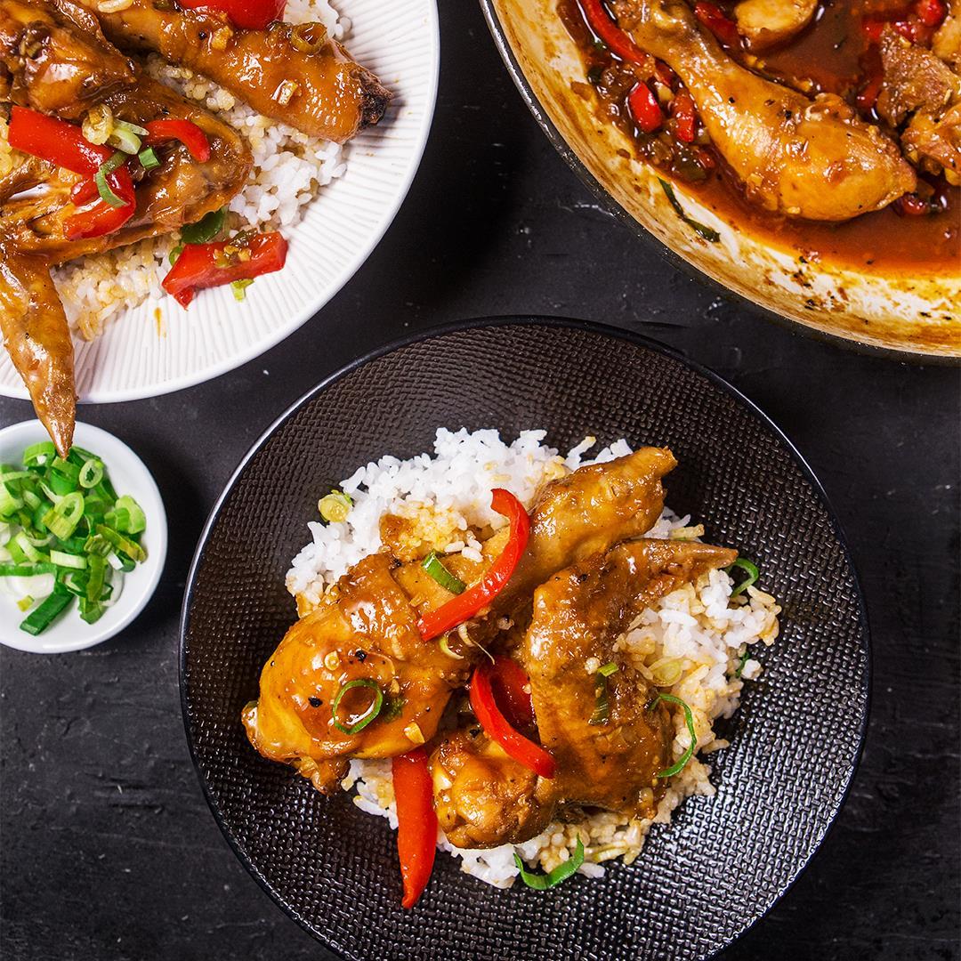 Chicken Bell Pepper Stir Fry