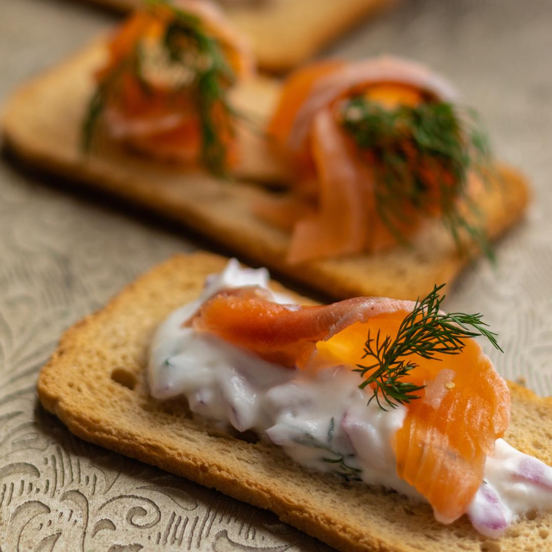 Easy Gravlax Appetizer for the Holidays!