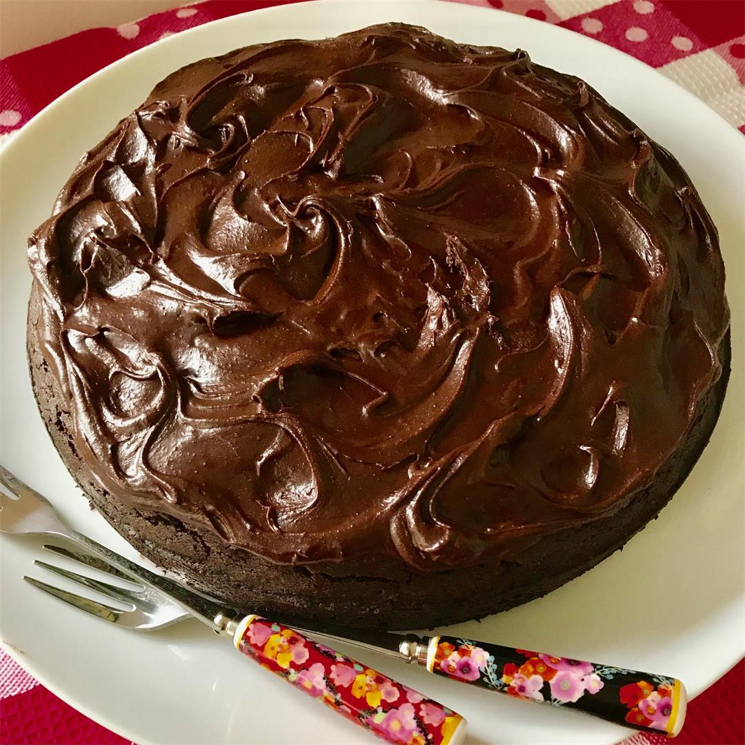 Vegan Chocolate Cake (Gluten Free)