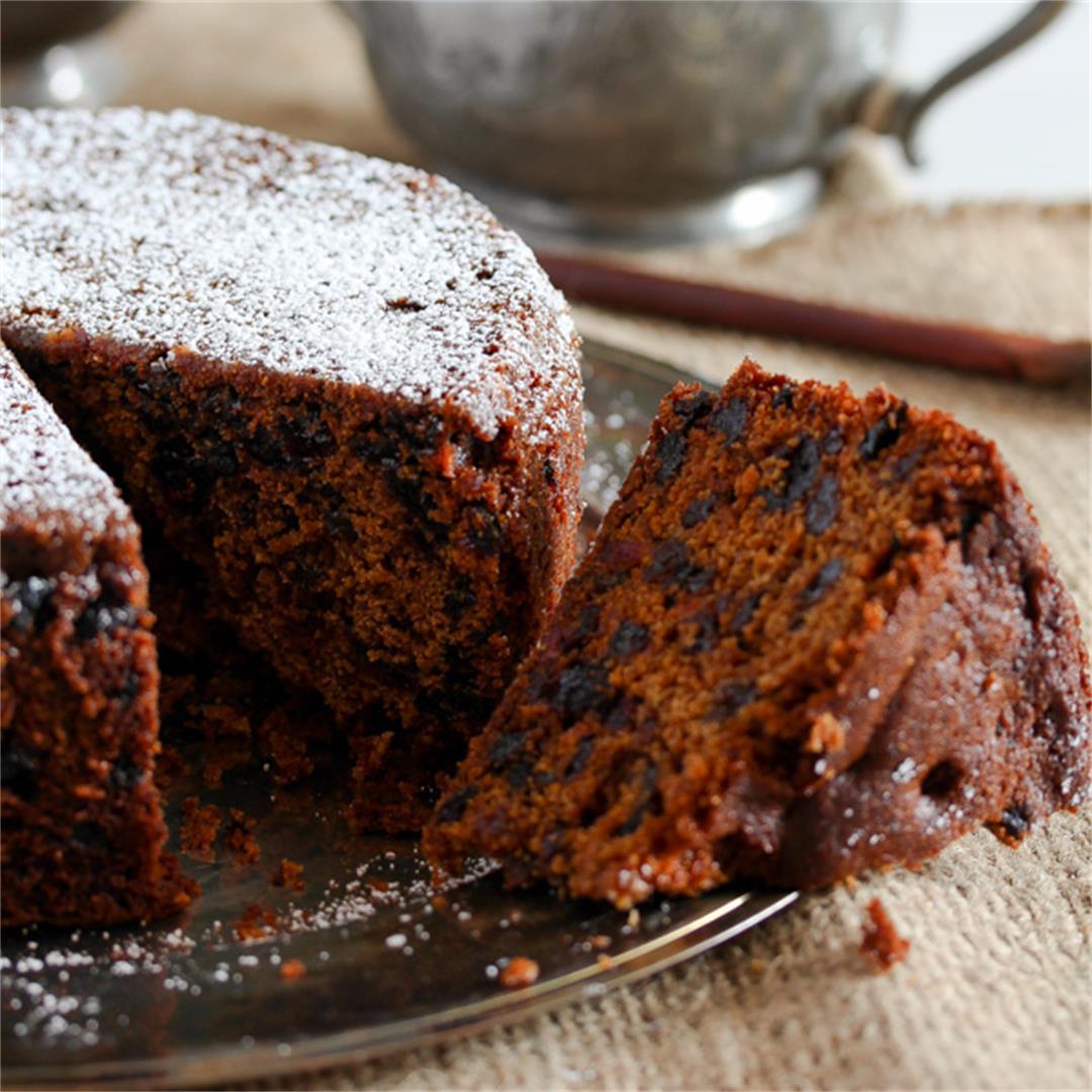 Easy Fruit Cake Recipe – Non Alcoholic Christmas Fruit Cake