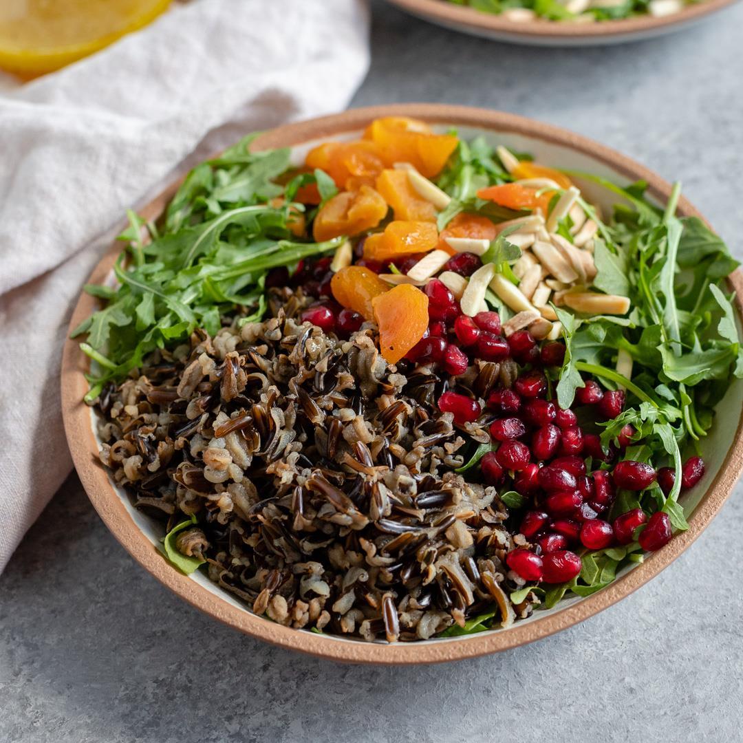Wild Rice Winter Salad