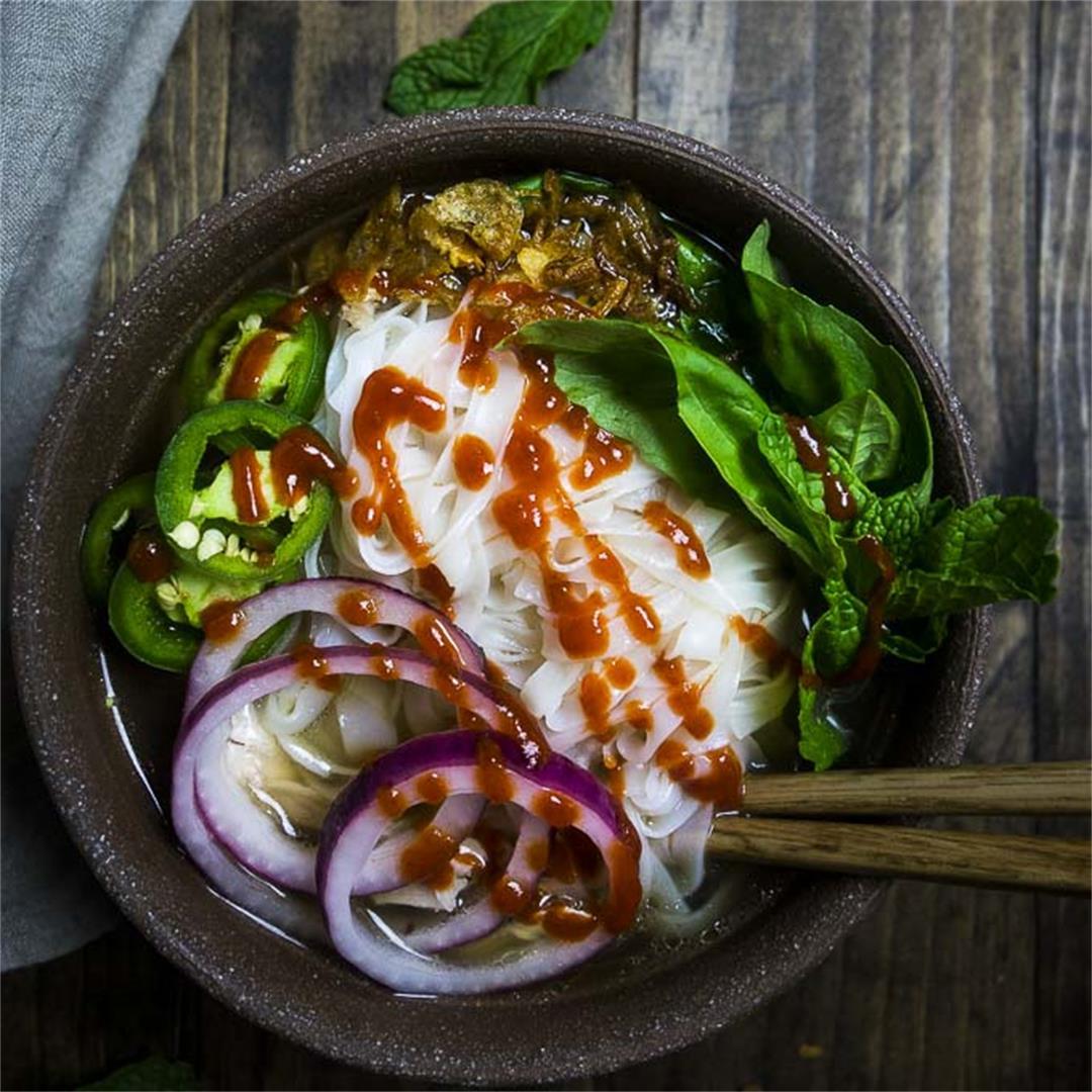 Healthy Chicken Pho