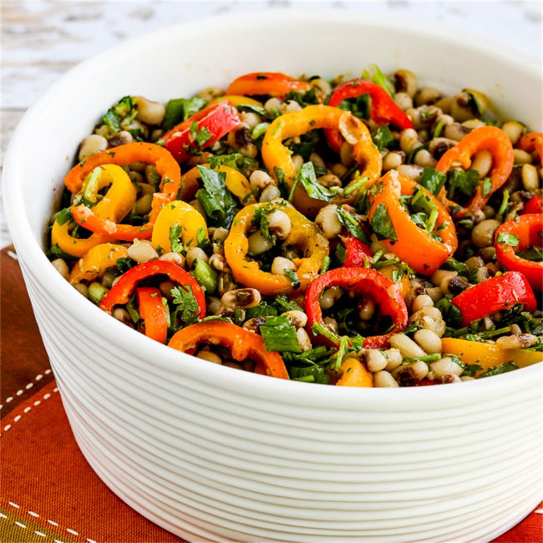 Black-Eyed Peas and Peppers Salad