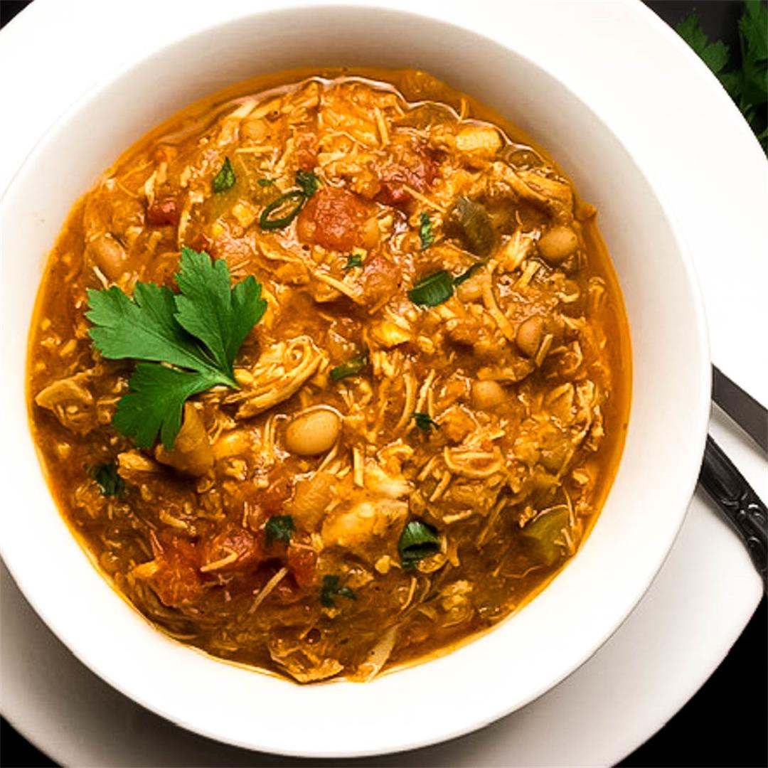Creole Turkey Chili