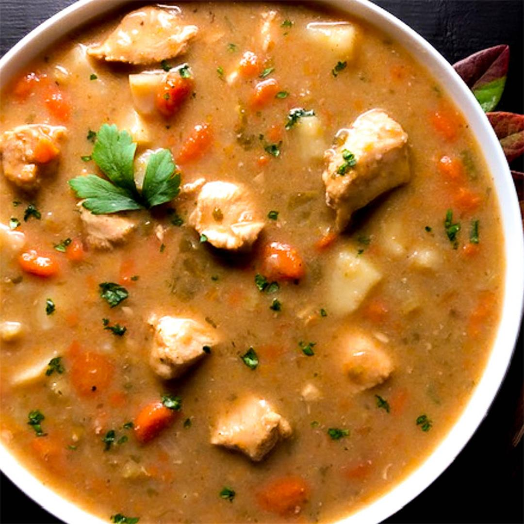 Grain or Gluten Free Cajun Chicken Stew