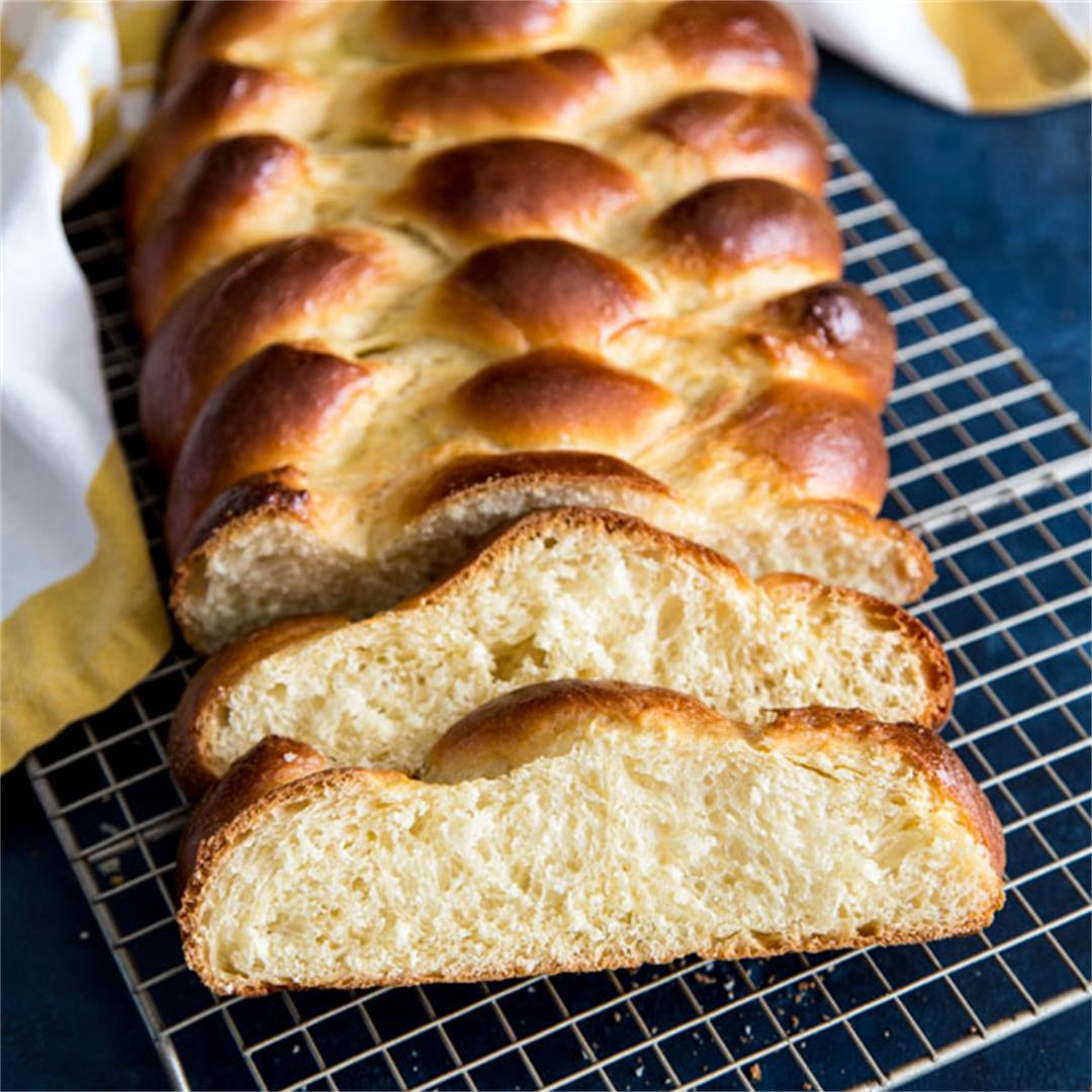 Challah Bread Recipe {Dairy Free}