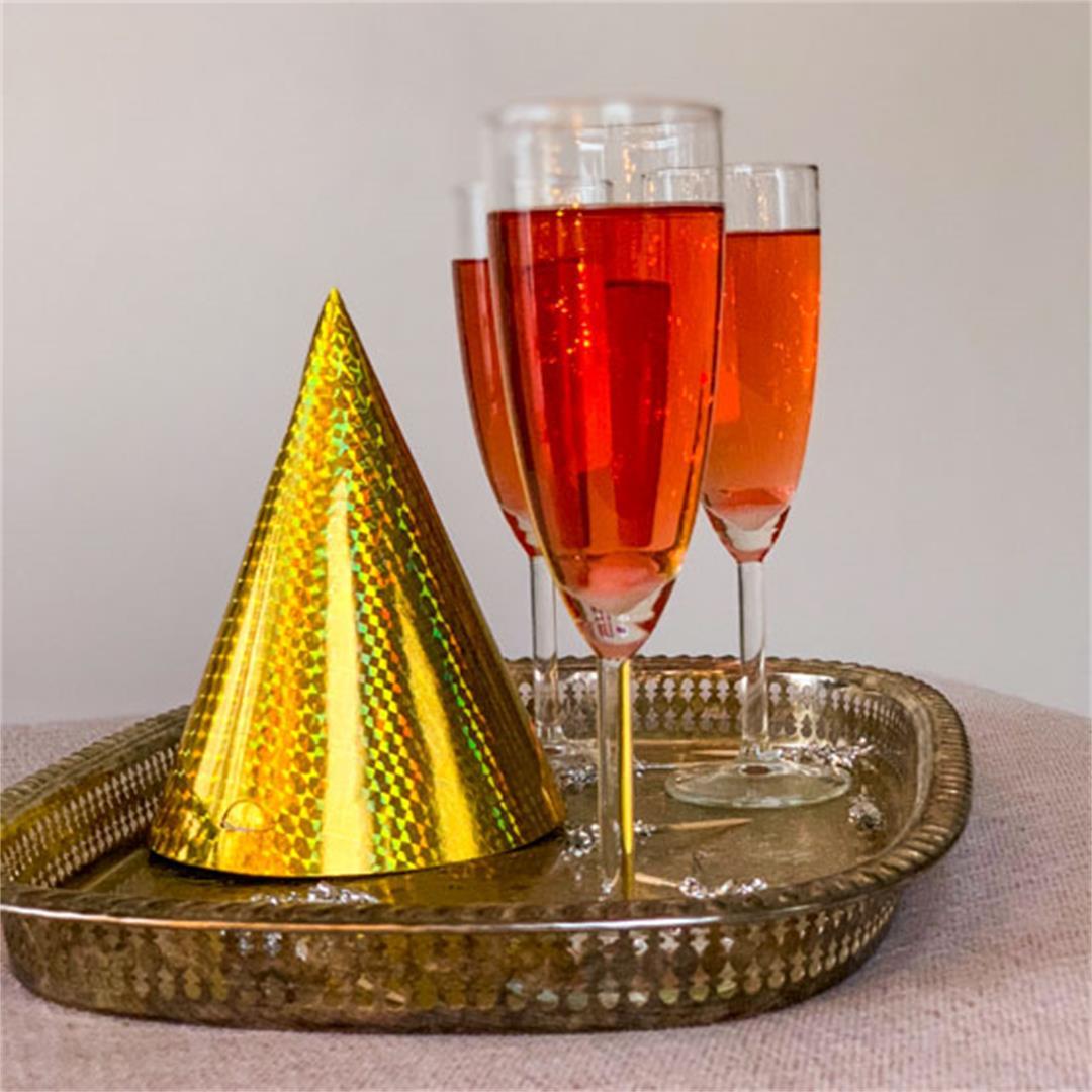 Rum & Campari Champagne Cocktail