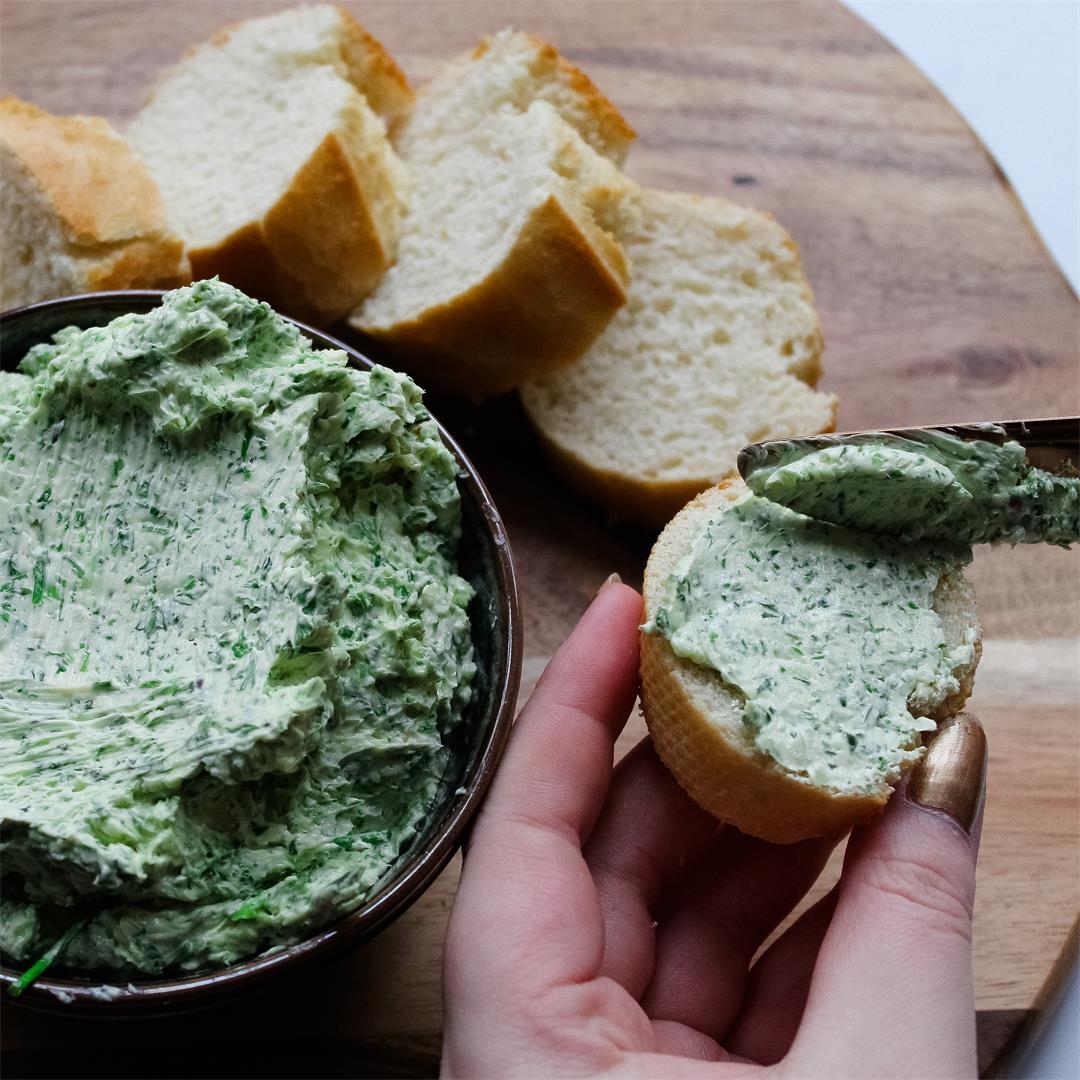 Vegan herb butter