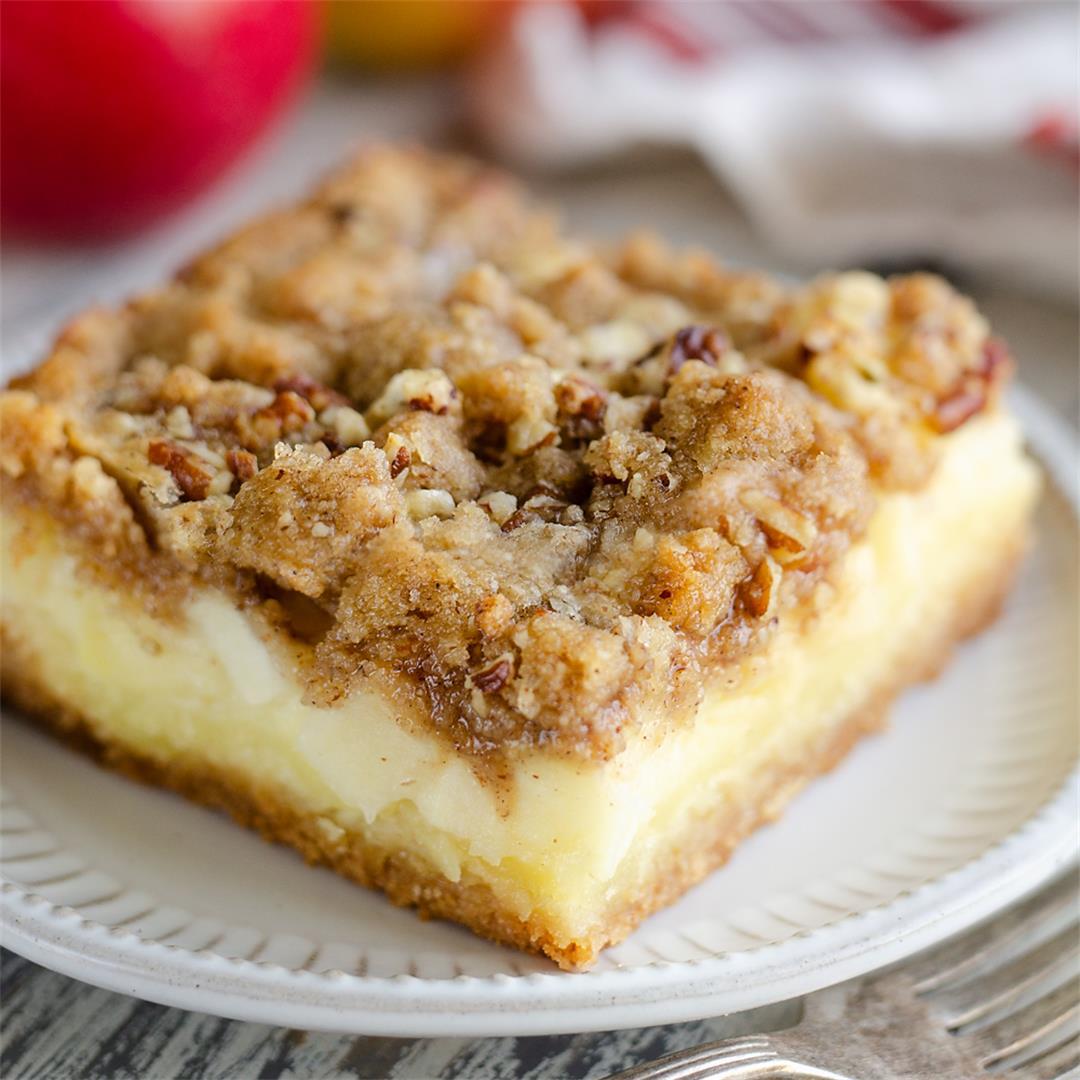 Apple Pecan Custard Dessert