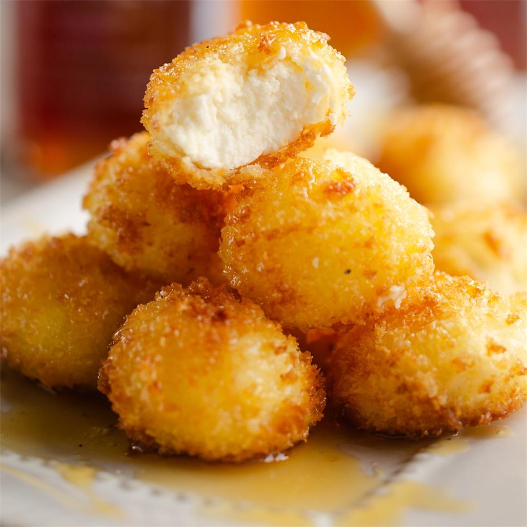 Airfryer Honey Goat Cheese Balls
