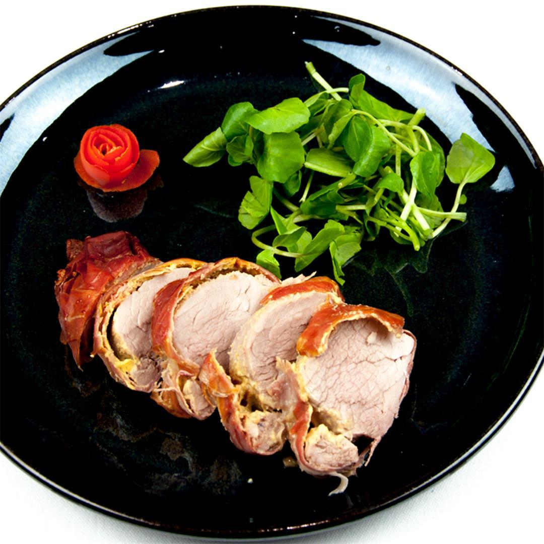 Pork Fillet Wrapped in Prosciutto