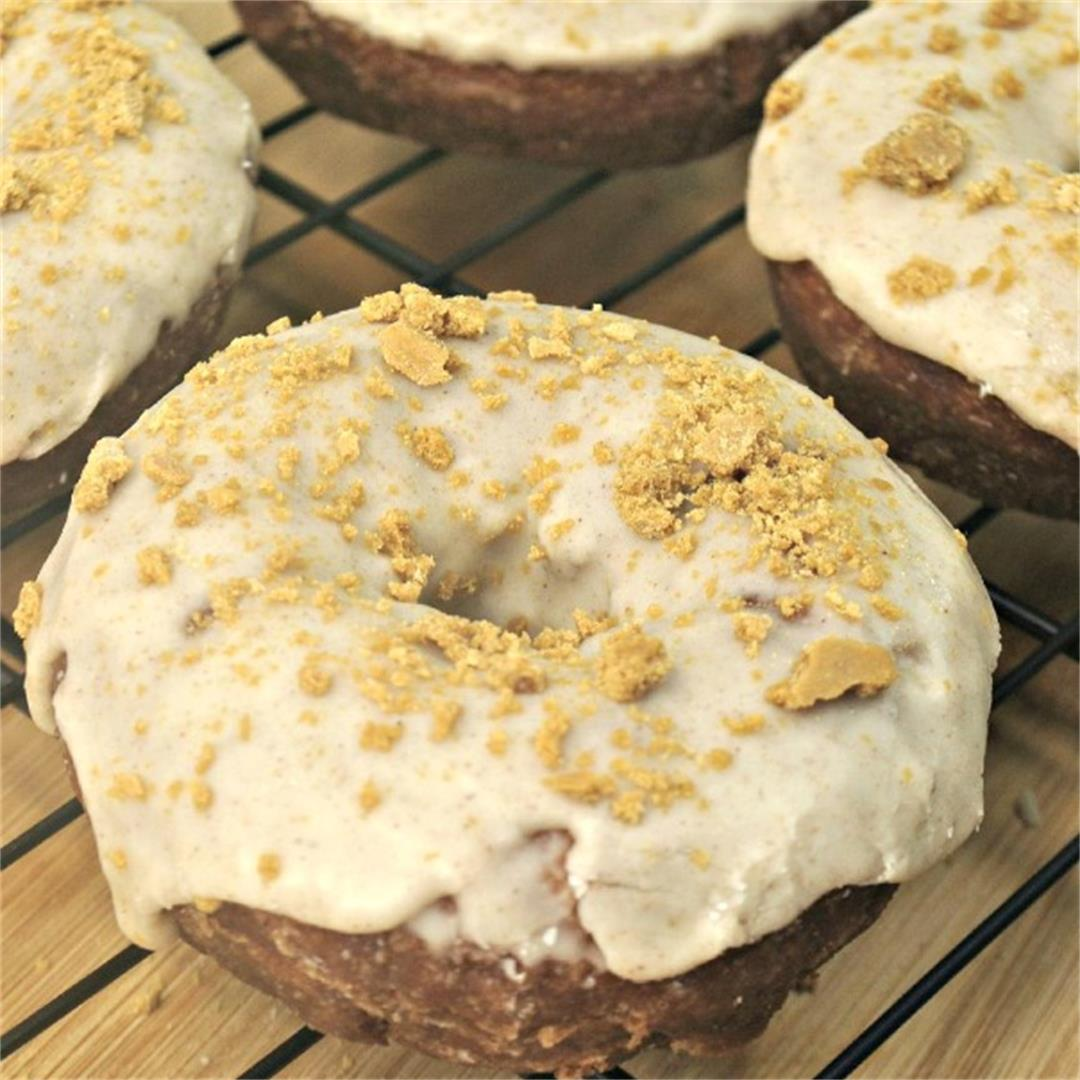 Simply Baked Gingersnap Donuts