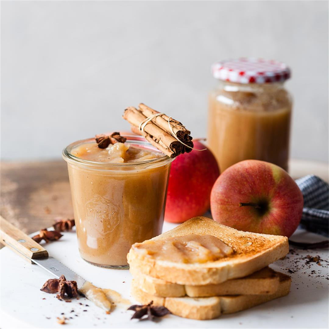 Probiotic Vegan Apple Butter